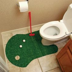 Bathroom Golf Game