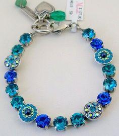1ef4821b8e Mariana Bracelet NWT Julia Floral Shapes Blues