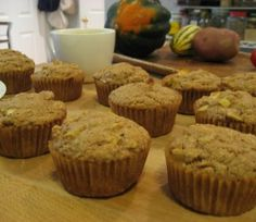 Appel haver muffin
