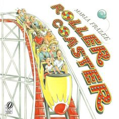 Roller Coaster by Marla Frazee for mini lessons to model varying action words, capturing a small moment, building suspense and adding detail to writing. I also use this book as a model for adding facial expressions to your illustrations. Writing Mentor Texts, Personal Narrative Writing, Personal Narratives, Teaching Writing, Informational Writing, Writing Topics, Teaching Ideas, Writing Lessons, Narrative Story