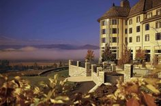 If you want a show-stopping Valentine's Day celebration, head to The Biltmore Estate. The food, made from locally sourced fish, meat, and vegetables grown right on the estate, is delicious, but the Blue Ridge Mountain view and stately manor are definitely the highlight. biltmore.com