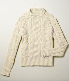 Signature Cotton Fisherman Sweater