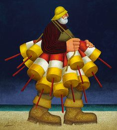 Lobster Fisherman, Lowell Herrero