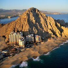 Grand Solmar Land's End Resort & Spa, #Mexico  The location impossibly situated between cliff and sea. Pelicans soaring over golden sands and sailboats scooting across blue waves. Infinity edge pools with swim-up dining. White-canvassed cabanas complete with poolside massages.