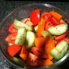 Cold Veggie Side Dish