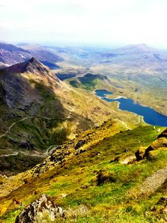 Snowdonia is otherworldly in its beauty. If you like to hike, this is the place to go. There are endless places to explore, with rolling green peaks and clear hanging lakes, and small slate-bedecked towns are dotted throughout. It is quintessential lush, unkempt Welsh countryside.