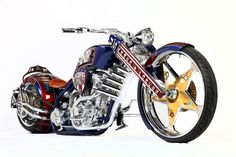 Paul Jr. Designs GEICO Armed Forces Bike  #PaulJrDesigns  #PaulJr  #Designs…