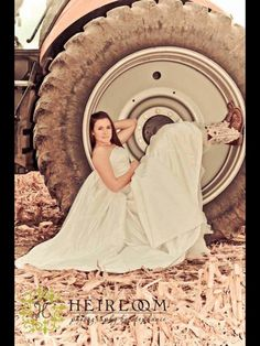 I must do this!   Wonder if D would clean up a tractor tire for me!