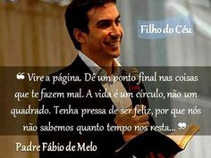 Padre Fábio de Melo - Vire a página.. (Turn the page, Padre Fabio de Melo, Brazil)
