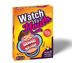 Watch Ya' Mouth, A Game Where Teams Read and Interpret Phrases While Hindered by Mouthguards