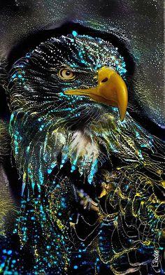 Art Des Gens, Colorful Animal Paintings, Pop Art, Art En Ligne, Wildlife Paintings, Bird Artwork, Street Art, Art Original, Magic Art
