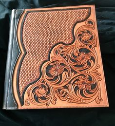 Leather binder!-SR