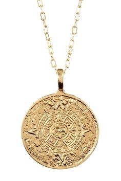 Sterling silver aztec tribe calendar pendant 18mm free 18 chain sterling silver aztec tribe calendar pendant 18mm free 18 chain aztec tribe sterling silver and products aloadofball Image collections