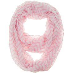 Amazon.com: Cotton Cantina Soft Chevron Sheer Infinity Scarf... ($4.35) ❤ liked on Polyvore featuring accessories, scarves, loop scarf, chevron infinity scarf, tube scarf, cotton infinity scarf and cotton shawl