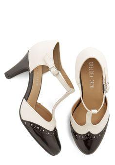 Vivacious Vibes Heel in Black | Mod Retro Vintage Heels | ModCloth.com