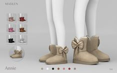 Sims 4 Teen, Sims Four, Sims Cc, Sims 4 Toddler Clothes, Sims 4 Cc Kids Clothing, Ugg Like Boots, Sims 4 Cas Mods, Mod Shoes, Sims 4 Children