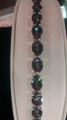 30 carat Northern Lights Mystic topaz at DD's Jewelry Suite 1208 at the frisco Mercantile