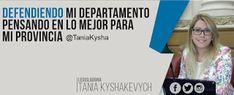 "Así Somos: Tania Kyshakevych: ""El gobernador Juan Schiaretti ..."