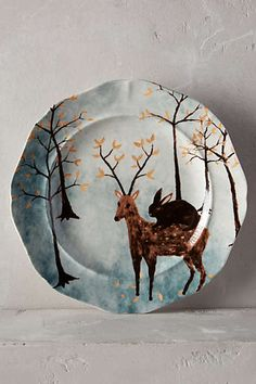 Anthropologie Europe - Echo Treks Dessert Plate