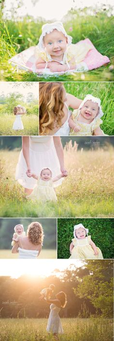 3 month baby girl photo session