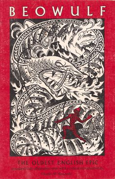 Beowulf - cover designed by David Laufer, 1978