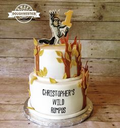 Where the wild things are Cake by Sweet Doughmestics
