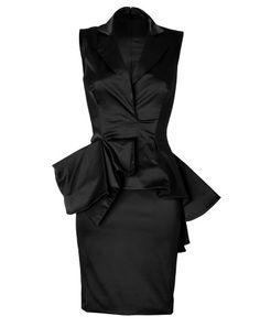 97759f0203 24 Best peplum images | Cute dresses, Beautiful dresses, Short dresses