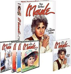 cds-dvds-vhs: Maude - The Complete Series Box Set Seasons 1 2 3 4 5 and 6 Brand New In Stock #Movie - Maude - The Complete Series Box Set Seasons 1 2 3 4 5 and 6 Brand New In Stock...