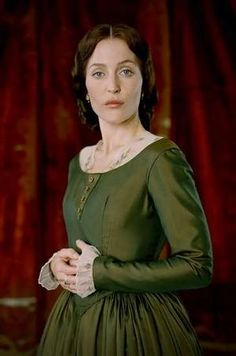 """Gillian Anderson - this is exactly how I picture Miss Anne Lynchwoode in my story """"The Birthright."""""""
