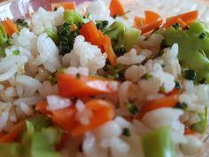 Rýže, brokolice, mrkev, puchýřkatý ječmen a tak ... Salsa, Grains, Tacos, Mexican, Ethnic Recipes, Salsa Music, Seeds, Mexicans, Korn