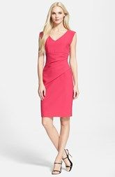 Diane von Furstenberg 'Bevin' Ruched Sheath Dress (Nordstrom Exclusive)