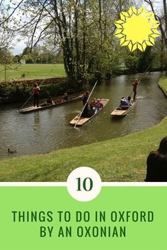Read about the top 10 Things To Do In Oxford by an Oxonian | Things to Do in Oxford | Best City in…