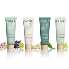 Meet the NEW Mask Wardrobe: a collection of 4 masks inspired by the Caudalie Vinotherapie Spa treatments. Achieve perfect skin in record time.  #Caudalie #Spa #Natural #Beauty #Skincare #Masks #DIY