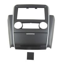 2016 Car Dash Frame Radio Fascia for Mitsubishi V3 Lingyue 2011 2DIN (Combination) AutoStereo Panel kit CD Trim Installation