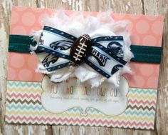 Philadelphia  Eagles baby headband 7f285ca4c82