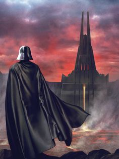 I think it was great for rogue one to mKe Darth Vader's castle canon. Imagine all the stories within those walls, all the Jedi that went… Star Wars Concept Art, Star Wars Fan Art, Vader Star Wars, Lego Star Wars, Anakin Skywalker, Darth Vader Castle, Darth Maul, Star Wars Personajes, Star Wars Comics