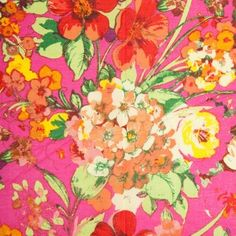 Very Berry Floral Cotton Print