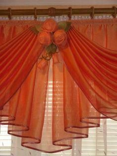 Gifts & Decor Shabby Elegance Scrollwork Candleholder Chic Decor - Home Style Corner Curtains And Draperies, Home Curtains, Kitchen Curtains, Valances, Drapery, Cottage Curtains, Window Coverings, Window Treatments, Rideaux Design