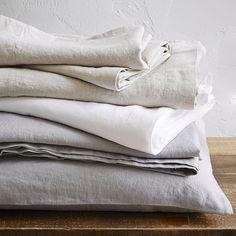 Belgian Flax Linen Sheet Set | west elm