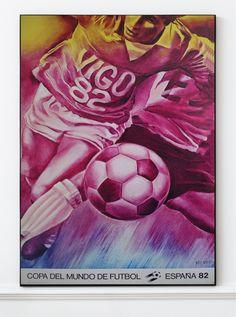 (1) Jaques Monory - Original Artist Poster 1982 – Art & Vintage Store Ltd Vintage Prints, Vintage Posters, Exhibition Poster, Fine Art Prints, Poster Prints, Museum, Football, The Originals, Artwork