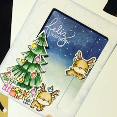 Mama Elephant   Reindeer Games   Christmas