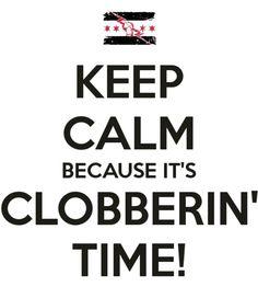 WWE CM Punk Clobberin' Time