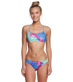 Dolfin Uglies Women's Indio Workout Bikini Set at SwimOutlet.com – The Web's most popular swim shop