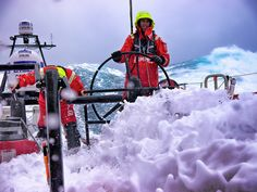 Camper in the Volvo Ocean Race