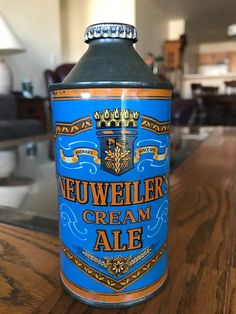 Neuwieler Cream Ale , Allentown PA Beer Can Collection, Old Beer Cans, Unusual Names, Beer Company, Best Beer, Craft Beer, Whisky, Brewery, Liquor