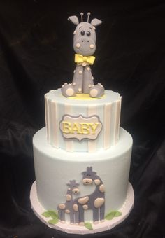Baby Shower Cake, Giraffe Cake, CAKES BY DARCY …