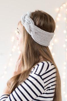 Crochet & handmade: Braided Crochet Earwarmer