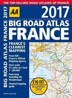 Big Road Atlas France 2017