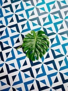 Old Brand New •Patio DIY • Painted Floor Tiles