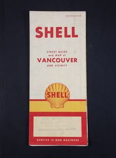 1956 Shell Street Guide and Map of Vancouver and Vicinity - Jim Menning Shell Service 41st & Dunbar https://treasurevalleyantiques.com/products/1956-shell-street-guide-and-map-of-vancouver-and-vicinity-jim-menning-shell-service-41st-dunbar #Vintage #MidCentury #1950s #50s #Fifties #Shell #Gas #Station #Service #Maps #Vancouver #Vicinity #JimMenning #Gasoline #Oil #Dunbar #Street #Collectibles